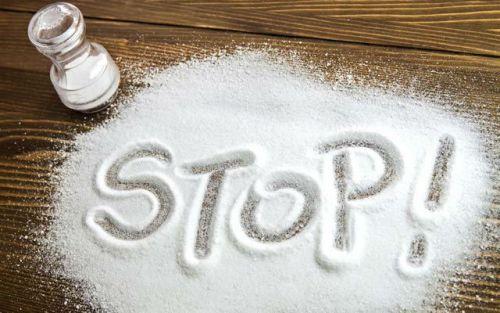 Запрет употребления соли