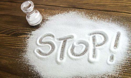 Соль запрещена