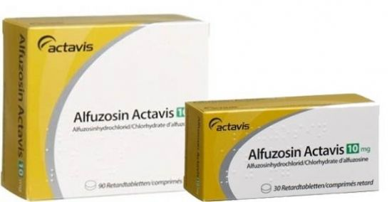 Альфузозин