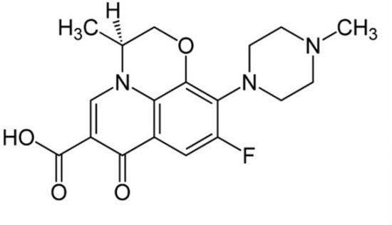 Формула Левофлоксацина