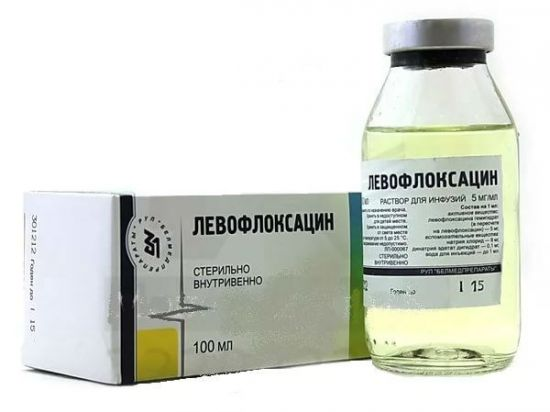 Раствор Левофлоксацина