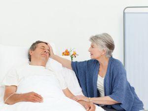 бабушка пришла к пациенту